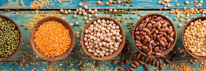 Hülsenfrüchte – eiweißreiche Lebensmittel